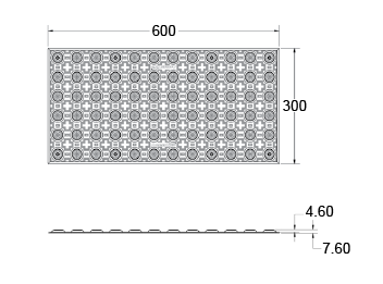 product 600x300  mm